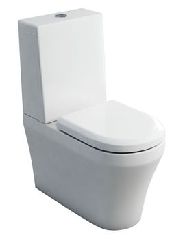 Britton Fine S40 Close Coupled WC And Cistern Lid With Soft Close Seat