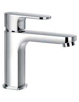 Flova Smart Cloakroom Monobloc Single Lever Basin Mixer Tap With Waste