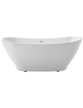 Heritage Merrivale 1760 x 680mm Freestanding Double Ended Acrylic Bath