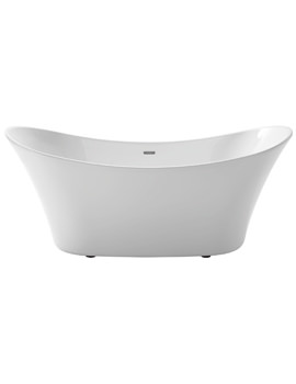 Heritage Penhallam 1700 x 700mm Freestanding Double Ended Acrylic Bath