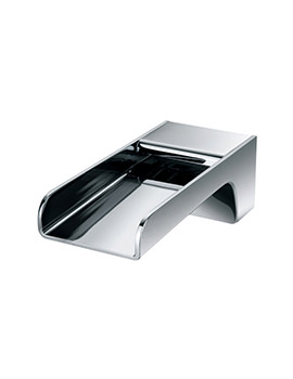 Flova Cascade Wall Mounted Bath Spout