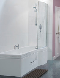 Balterley Buttermere Easy Access Left Hand Walk-In Spa Bath Pack