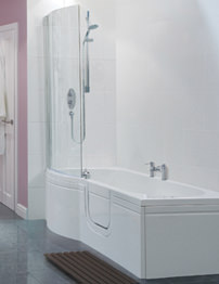 Balterley Buttermere Easy Access Right Hand Walk-In Bath Pack