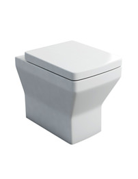 Britton Cube S20 Back To Wall Pan With Soft Close Seat