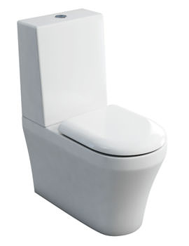 Britton Fine S40 Close Coupled WC With Cistern And Soft Close Seat