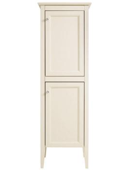 Heritage Caversham Oyster 500 x 1540mm 2 Door Straight Tall Boy Unit