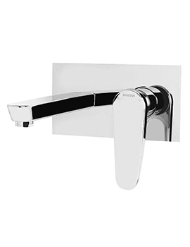 Bristan Claret Wall Mounted Bath Filler Tap Chrome