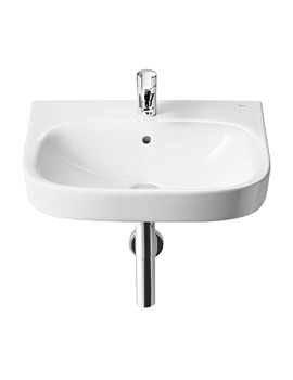 Roca Debba 500 x 420mm Wall Hung Basin With 1 Tap Hole