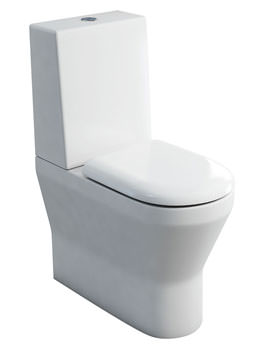 Britton Tall S48 Close Coupled WC With One Piece Cistern And Seat