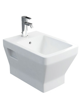 Britton Cube S20 Wall Hung Bidet