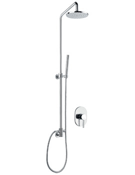 Flova Levo Concealed Manual Mixer Valve With Shower Column Set