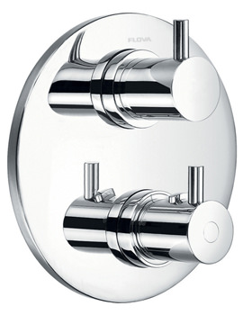 Flova Levo Concealed Thermostatic Shower Valve With 3 Way Diverter