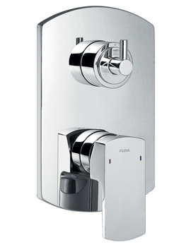 Flova Dekka Manual Concealed Shower Mixer Valve With 3 Way Diverter