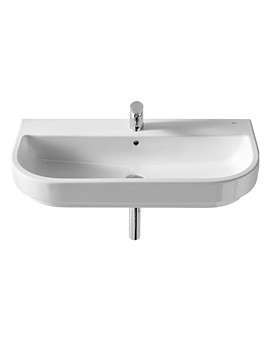 Roca Long Island 900 x 440mm Wall Hung Basin With 1 Tap Hole