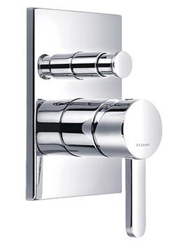 Flova Essence Manual Concealed Shower Valve With 2 Way Diverter