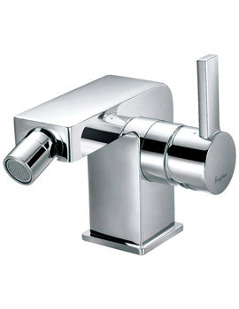 Flova Str8 Deck Mounted Single Lever Bidet Mixer Tap With Waste