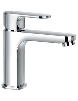 Flova Smart Monobloc Single Lever Basin Mixer Tap With Clicker Waste