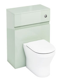 Britton Aqua Cabinets D300 BTW 600mm WC Unit With Push Button - Reef