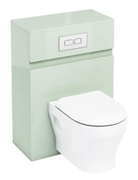 Britton Aqua Cabinets D300 Reef Wall Hung Unit And Flush Plate