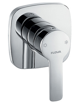 Flova Urban Manual Concealed Shower Mixer Valve With Dual Outlet