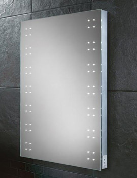 HIB Ariel 600 x 800mm LED Illuminated Steam Free Mirror