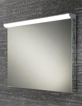 HIB Fleur 800 x 635mm LED Top Illuminated Steam Free Mirror