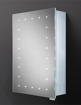HIB Vogue 500 x 700mm LED Illuminated Steam Free Mirror Cabinet