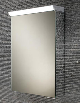 HIB Spectrum 500 x 700mm LED Top Illuminated Mirror Cabinet