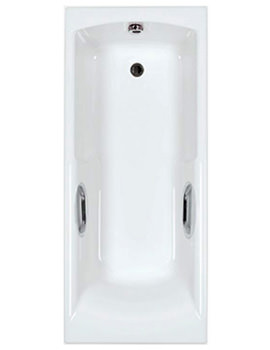 Carron Axis 5mm Acrylic Twin Grip Single Ended Bath 1700 x 700mm