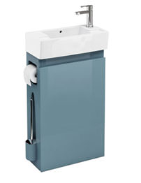 Britton All-in-One Floor Standing Ocean Unit And RH Cloakroom Basin