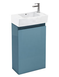 Britton Aqua Cabinets Deep Floor Standing Ocean Unit With RH Basin