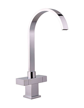 Mayfair Kubo Chrome Kitchen Mono Sink Mixer Tap
