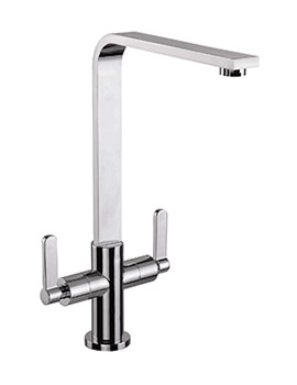 Mayfair Reef Chrome Kitchen Mono Sink Mixer Tap