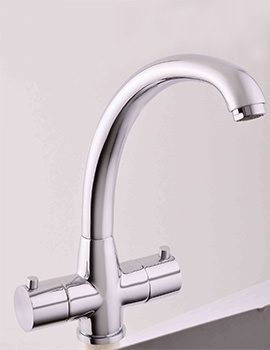 Mayfair Moda Chrome Kitchen Mono Sink Mixer Tap