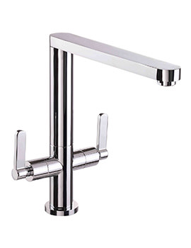 Mayfair Rosy Chrome Kitchen Mono Sink Mixer Tap