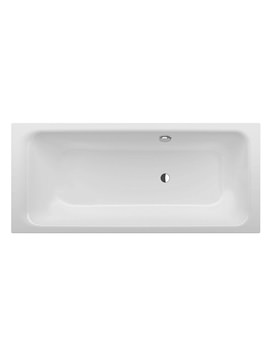 Bette Select Super Steel Bath 1600 x 700mm With Side Overflow