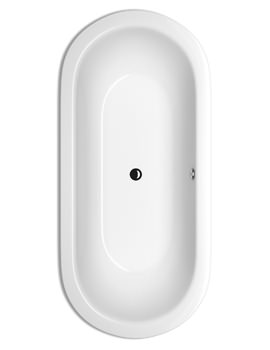 Bette Starlet Oval Double Ended Super Steel Bath 1950 x 950mm