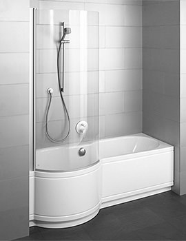 Bette Cora Comfort Niche Super Steel Shower Bath 1700 x 900mm LH