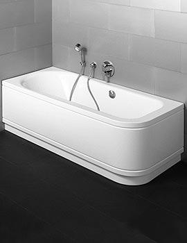 Bette Esprit Comfort Corner Double Ended Super Steel Bath 1700 x 750mm