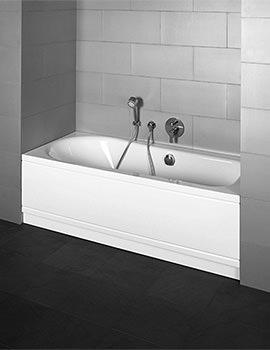 Bette Esprit Comfort Niche Double Ended Super Steel Bath 1700 x 750mm