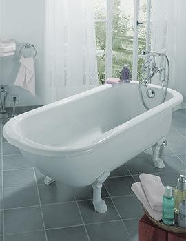 Bette Roma Freestanding Super Steel Bath 1700 x 750mm