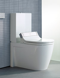 Duravit Starck 3 Close Coupled Toilet With Cistern And SensoWash Seat