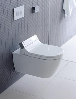Duravit Starck 3 Wall Mounted Toilet With SensoWash Seat