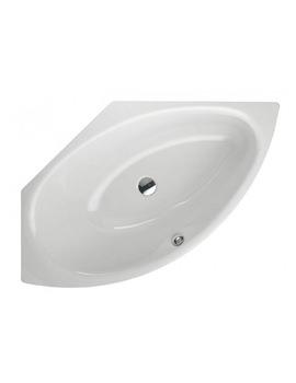 Bette Pool III Super Steel Corner Bath 1600 x 1130mm Left Hand