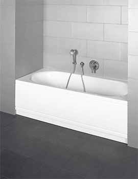 Bette Starlet Comfort Niche Double Ended Super Steel Bath 1600 x 700mm