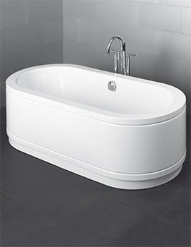 Bette Starlet Oval Comfort Free-standing Super Steel Bath 1650 x 750mm
