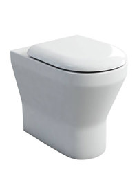Britton Tall S48 Back To Wall Pan With Soft Close Seat