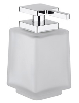 Crosswater Wisp Frosted Glass Soap Dispenser