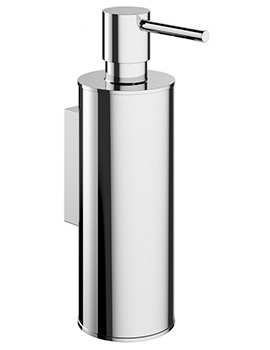 Crosswater Mike Pro Chrome Finish Removable Soap Dispenser