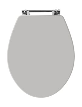 Old London Stone Grey Wooden Toilet Seat For Richmond Toilets